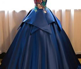 Ball Gown Prom Dress..