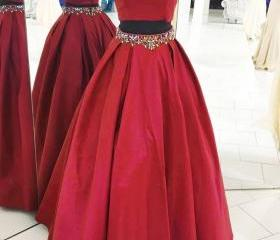 BURGUNDY TWO PIECES ..