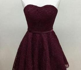 Burgundy Lace Sweeth..