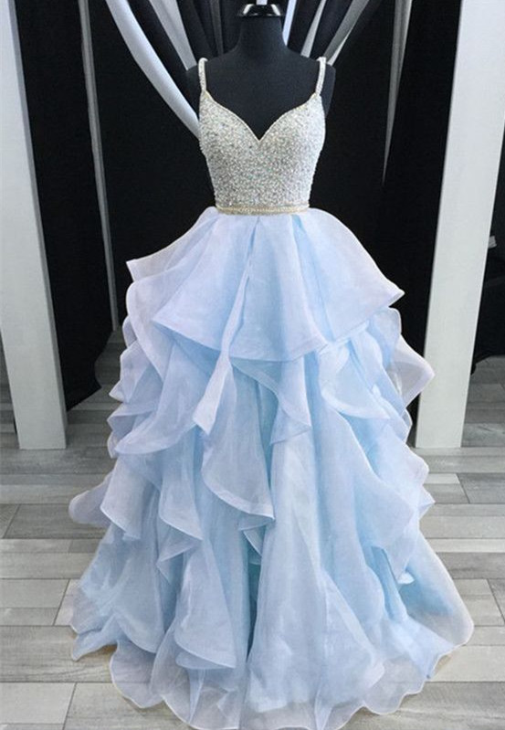 Sparkly Pretty Most Popular Prom Dresses, 2018 prom dress, Party Gowns, Evening dress