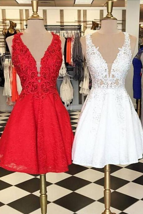 Short Prom Dresses,Prom Dress,Sleeveless Appliques Prom Dress,Tulle Prom Gown,Short Prom Dresses